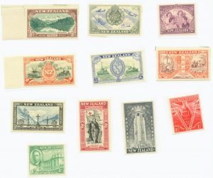 New Zealand Scott #247-57  11 vars. MNH Stamp