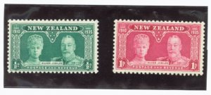 New Zealand Scott #199-200  2 vars. MNH Stamp