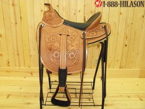 Hilason Gaited Western Trail Endurance Saddle 16