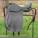 HILASON ENGLISH FLEX TREE DRESSAGE PLEASURE SADDLE 16