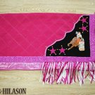 Western Show Barrel Racing Rodeo Saddle Blanket Pad 009