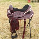 TT910M Flex-Tree Barrel Racing Trail Western Saddle 17