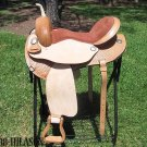 Flex-Tree Barrel Racing Trail Western Horse Saddle 14