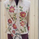 Hilason Hand-Painted Showmanship Rail Jacket Shirt - XS