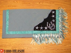 238 Western Show Barrel Racing Rodeo Saddle Blanket Pad
