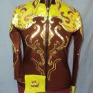 2568 Hilason Horsemanship Showmanship Jacket Shirt - M