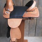 AW115 Hilason Treeless Western Trail Barrel Saddle 15