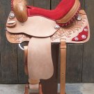 TT296 Flex-Tree Barrel Racing Trail Western Saddle 15