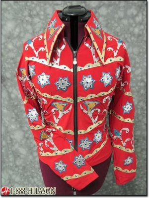 HSSS2022 Hilason Showmanship Rail Pleasure Jacket Shirt