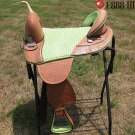 TW286 Hilason Treeless Western Barrel Trail Saddle 17