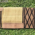 LB149 HILASON WESTERN MEMORY FOAM WOOL SADDLE PAD BLANKET NEW ZEALAND