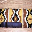 LB150 HILASON WESTERN MEMORY FOAM WOOL SADDLE PAD BLANKET NEW ZEALAND