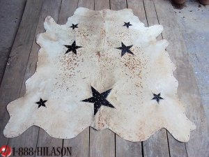 FULL COWHIDE NATURAL HAIR-ON LEATHER 21 sqft