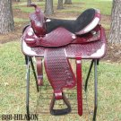 Hilason Treeless Western Barrel Trail Saddle 15 TO511M