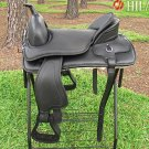 Hilason Treeless Western Pleasure Trail Riding Saddle 17 TO509