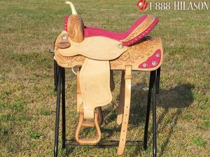 TT922 Flex-Tree Barrel Racing Trail Western Saddle 16