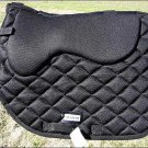 F-TA300 HILASON ENGLISH SADDLE PAD WITH MEMORY FOAM AND ANTI-SLIP