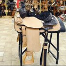 F-RS100 HILASON WESTERN RANCH COWBOY ROPING SADDLE 15.5