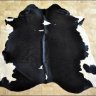 F-HS681 NATURAL BRAZILIAN HAIR-ON LEATHER COWHIDE THROW RUG CARPET 45 sqft