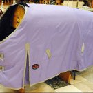 HILASON 600D HEAVY WINTER WATERPROOF PURPLE STABLE BLANKET HORSE WEAR COAT 72