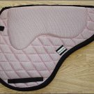 F-391 Hilason English Treeless Memory Foam Saddle Pad with Anti-Slip Light Pink