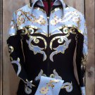 F-2944 WESTERN HORSEMANSHIP RIDING SHOWMANSHIP RAIL PLEASURE JACKET SHIRT - MED