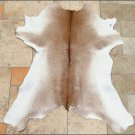 HS788F- HILASON HAIR-ON LEATHER PURE ARGENTINA FULL CALF COWHIDE SKIN RUG CARPET