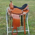 F-TO108 HILASON TREELESS WESTERN TRAIL BARREL RACING SADDLE 16