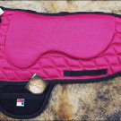 F-TA125 HILASON WESTERN TREELESS SADDLE PAD MEMORY FOAM AND ANTI SLIP - PINK