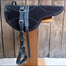 SP204F HILASON NATURAL HORSEMANSHIP LEATHER BAREBACK ENGLISH TREELESS SADDLE PAD