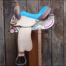 F-OS188 HILASON WESTERN BARREL RACING TRAIL PLEASURE SADDLE 15