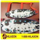 BRONC RODEO SHOW HORSE HALTER HAIR-ON CRYSTALS COB 313-F