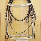 Unique White English Horse Dressage Bridle Reins PA225