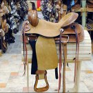 F-RS100 HILASON WESTERN WADE RANCH COWBOY ROPING SADDLE 17