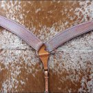 F-BH400-BC HILASON WESTERN HAND PAINTED LEATHER HORSE BREAST COLLAR