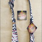 NEW HILASON WESTERN ZEBRA HAIR ON LEATHER HORSE ONE EAR BRIDLE HEADSTALL S453