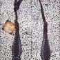 NEW HILASON WESTERN LEATHER HORSE ONE EAR BRIDLE HEADSTALL DARK BROWN S447