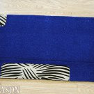 LB139F- HILASON WESTERN WOOL SADDLE PAD BLANKET NEW ZEALAND – DARK BLUE