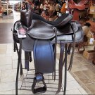 F-DF203 Hilason Draft Horse Western Trail Pleasure Saddle 16
