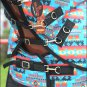 """78"""" HILASON 1200D WATERPROOF POLY TURNOUT HORSE BLANKET NECK COVER AZTEC TRIBAL"""