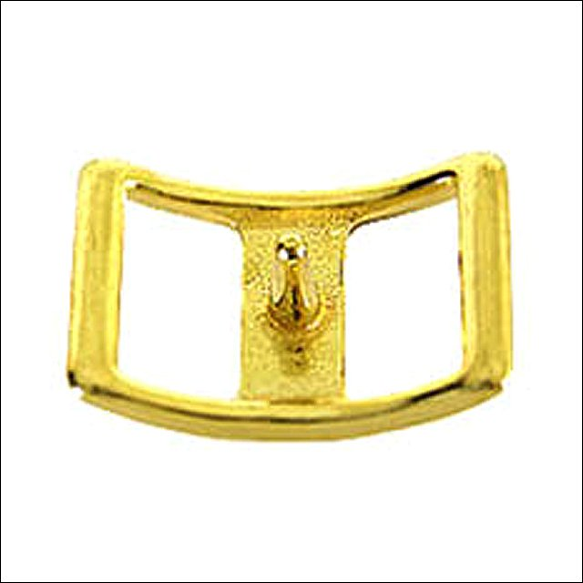NEW HILASON WESTERN 3/4 INCH  DC CONWAY BUCKLE-BRASS PLATED