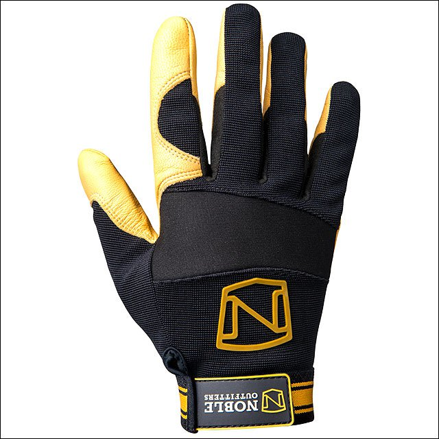 MEDIUM NOBLE OUTFITTERS STRETCH NEOPRENE MAXVENT WORK GLOVE BLACK TAN