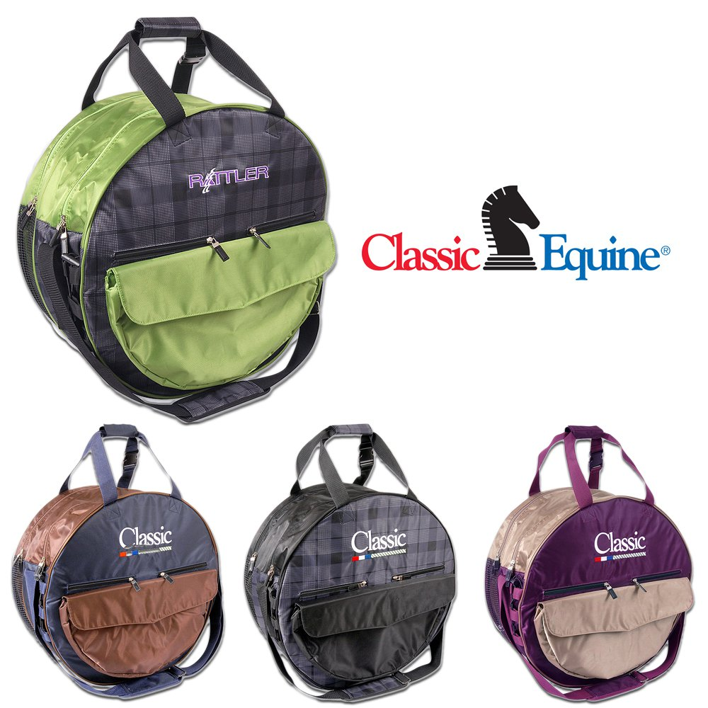 LARGE SIZE CLASSIC EQUINE HORSE TACK DELUXE ROPE BAG HOLDS 7-8 ROPES - ALL COLOR