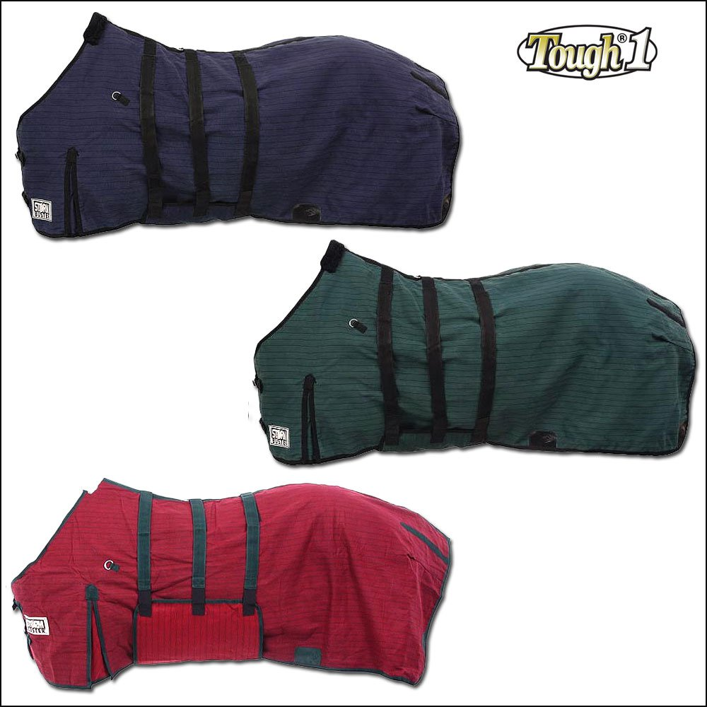 TOUGH-1 STORM-BUSTER BELLY WRAP WEST COAST COLD WINTER HORSE BLANKET 69-81 INCH