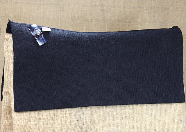 30x28 PROFESSIONAL CHOICE CONTOURED WESTERN HORSE WOOL SADDLE PAD LINER