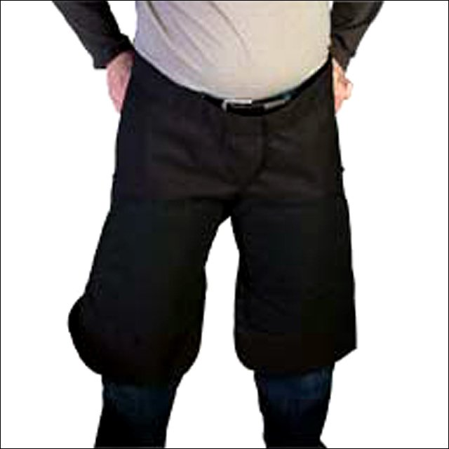 "HILASON WESTERN 26""x16"" CORDURA LEATHER FARRIER APRON SYNTH 2 MAGNETS BLACK"