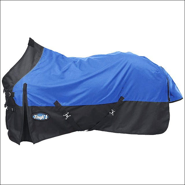 75 INCH BLUE TOUGH-1 1200D WATERPROOF TACK HORSE WINTER SHEET