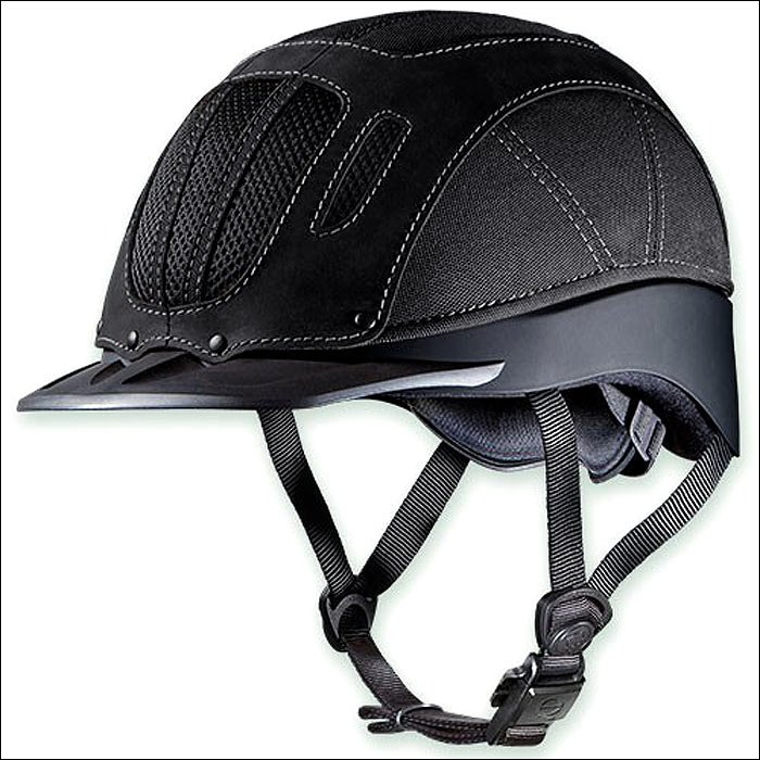 SMALL TROXEL SIERRA BLACK THE BEST SELLING WESTERN RIDING HELMET