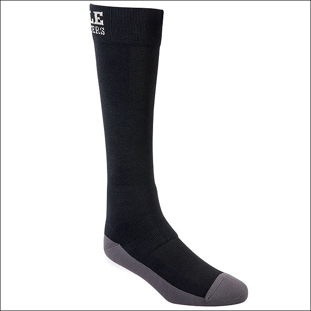 LARGE NOBLE OUTFITTERS XTREMESOFT ANKLE PADDING BOOT SOCK CREW BLACK