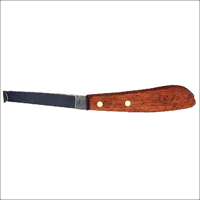 HILASON HOOF KNIFE W/ STAINLESS STEEL BLADE RIGHT HAND